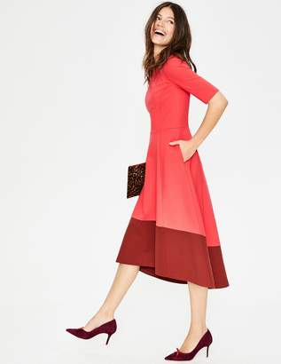 Wren Ponte Midi Dress