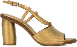 Del Carlo Chunky Heel Sandals