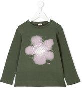 Il Gufo flower print longsleeved T-shirt