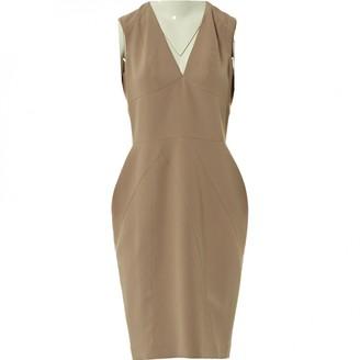Elie Saab Beige Polyester Dresses