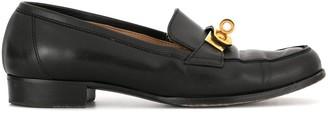 Hermes pre-owned Kelly motif loafers