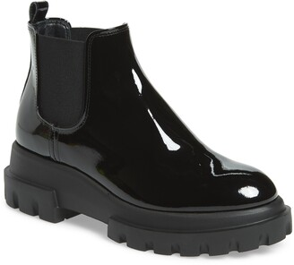 AGL Lugged Sole Chelsea Boot