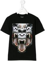 Marcelo Burlon County Of Milan Kids - printed T-shirt - kids - Cotton - 4 yrs