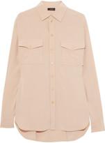 Joseph Washed-silk crepe de chine shirt