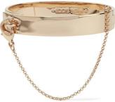 Eddie Borgo Safety Chain Gold-plated Bracelet - one size