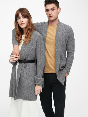 Banana Republic Merino-Blend Long Cardigan Sweater