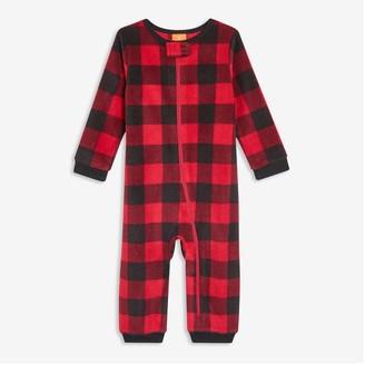 Joe Fresh Baby Zip-Front Sleeper, Black (Size 6-12)