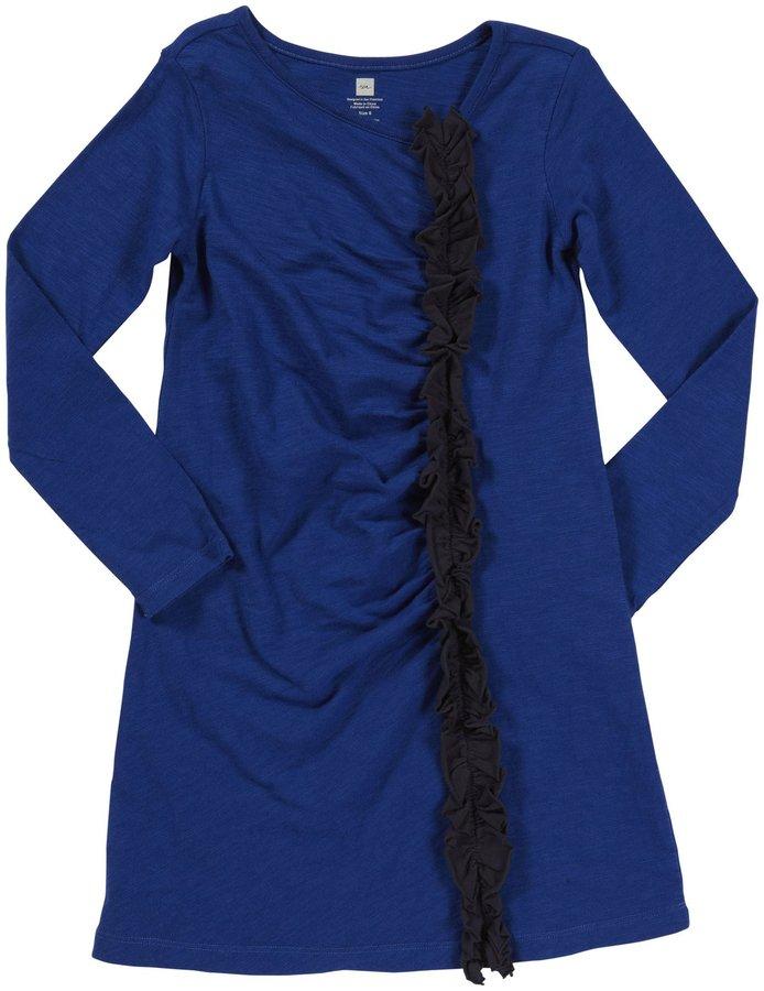 Tea Collection L/S Ruffle Dress