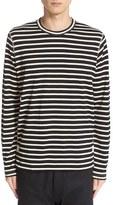 Junya Watanabe Men's Stripe Long Sleeve T-Shirt