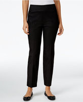 Alfred Dunner Petite Theater District Pinstripe Pants
