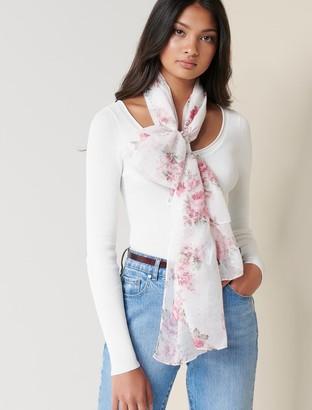 Forever New Kim Floral Print Scarf - Porcelain/ Blush Multi - 00