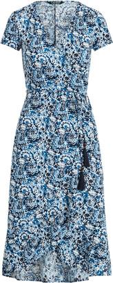 Ralph Lauren Floral Matte Jersey Dress