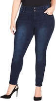 Thumbnail for your product : City Chic Jean Harley High Rise Skinny Jeans