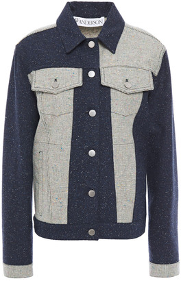 J.W.Anderson Appliqued Tweed Jacket
