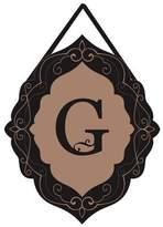 Evergreen Classic Monogram G Burlap Door Decor