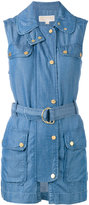 MICHAEL Michael Kors sleeveless denim jacket - women - Lyocell - M