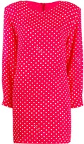 Moschino polka-dot mini dress