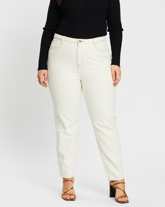 Missguided Curve Riot High Rise Denim Jeans