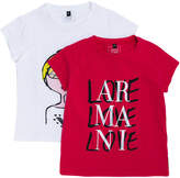 Armani Junior cartoon T-shirt
