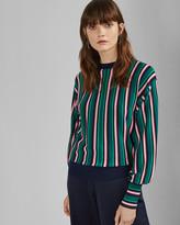 Ted Baker KIONAI Full sleeve striped jumper