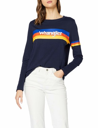 Wrangler Women's 80s Retro Sweat T-Shirt
