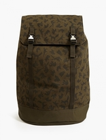 C6 X Christopher Raeburn Printed Backpack