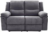 Albion Fabric 2 Seater Manual Recliner Sofa