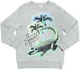 Stella McCartney Crocodile Organic Cotton Sweatshirt
