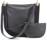 Diane von Furstenberg Women's Moon Leather/Suede Cross Body Bag Black