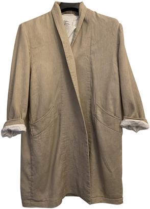 Closed Beige Cotton Coats