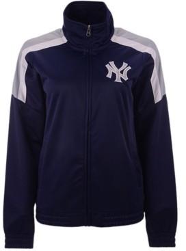 G Iii Sports G-iii Sports Women's New York Yankees Track Star Track Jacket
