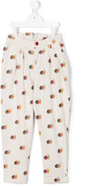 The Animals Observatory - moon print trousers - kids - Cotton - 4 yrs