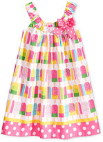 Bonnie Jean Popsicle Print Cotton Dress, Toddler & Little Girls (2T-6X)