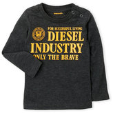 Diesel Infant Boys) Dark Grey Tee