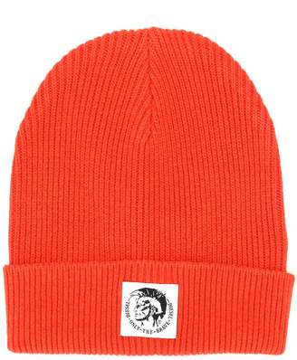Diesel K-Coder ribbed knit beanie