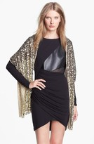 Betsey Johnson Sequin Wrap