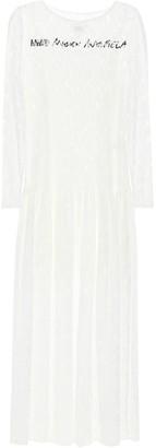 MM6 MAISON MARGIELA Logo floral-lace dress