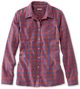 L.L. Bean L.L.Bean Freeport Flannel Shirt, Gingham