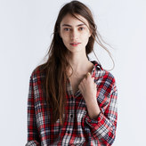 Madewell Flannel Oversized Ex-Boyfriend Shirt in Carl Plaid