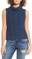 Somedays Lovin Women's Logic Cable Knit Turtleneck Tank