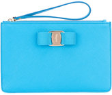 Salvatore Ferragamo Vara clutch bag - women - Calf Leather - One Size