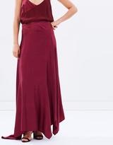 Diagonal Maxi Skirt