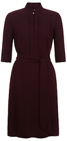 Hobbs Lois Shirt Dress, Burgundy
