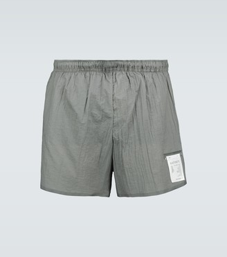 "Satisfy Insulated 8"" running shorts"