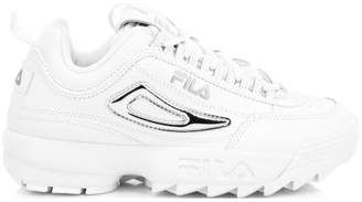 Fila Women's Disruptor II Metallic Accent Sneakers