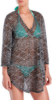 Jordan Taylor Ikat Burnout Cover-Up