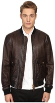 DSQUARED2 Pilot Leather Bomber Men's Coat