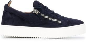 Giuseppe Zanotti Side-Zip Signature Sneakers