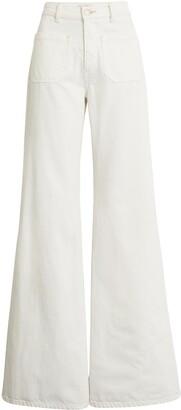 Nili Lotan Florence High Waist Bootcut Jeans