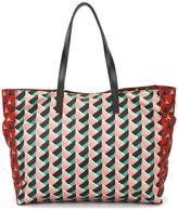 RED Valentino geometric pattern tote
